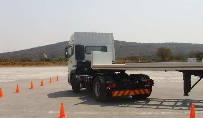 ruck driver training course with truck