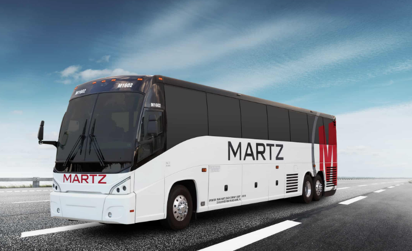 Martz Group motorcoach