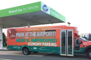 Philly Airport Shuttle Goes Green with CNG
