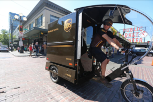UPS to Launch eBike Urban Delivery Solution
