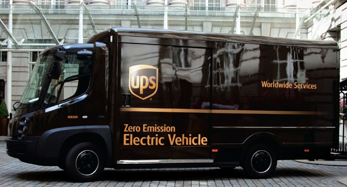 UPS alternative fuel electric vehicle