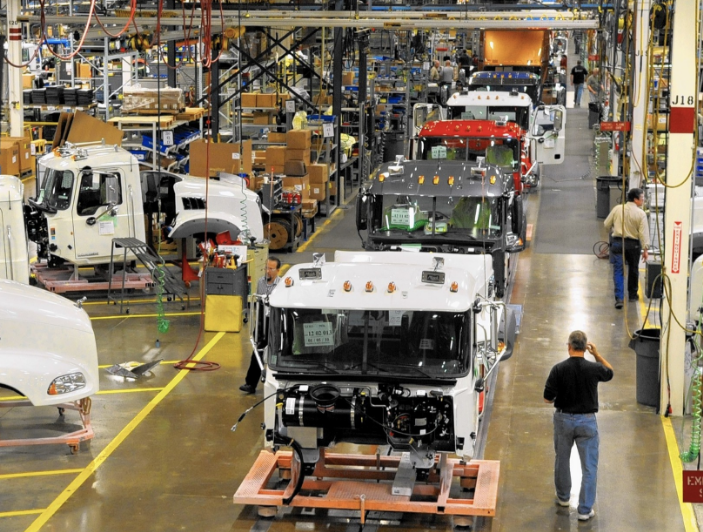 truck manufacturing facility