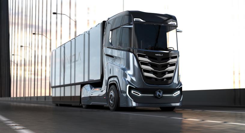 Nikola Debuts Zero-emissions Truck