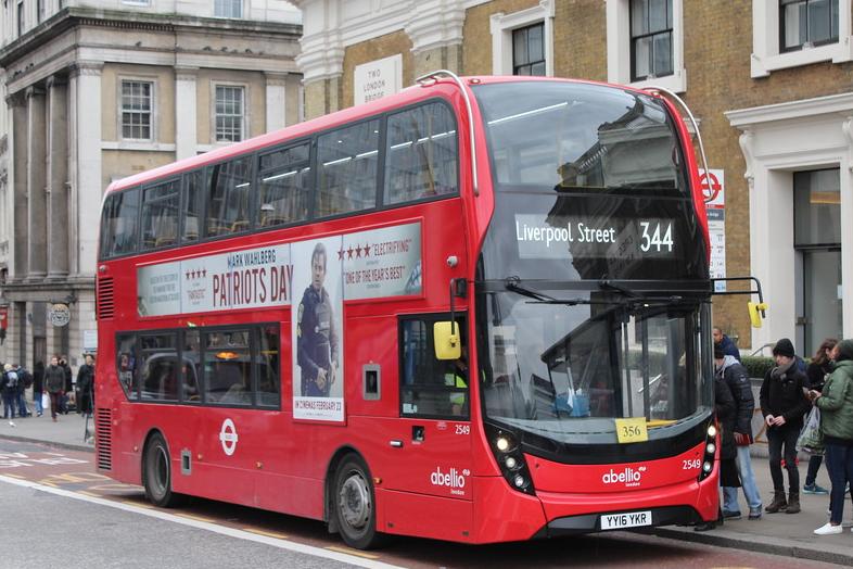 Abellio London bus