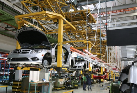 Mercedes Benz assembly