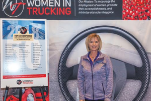 Women In Trucking NamesBonnie SupanDecember Member of the Month