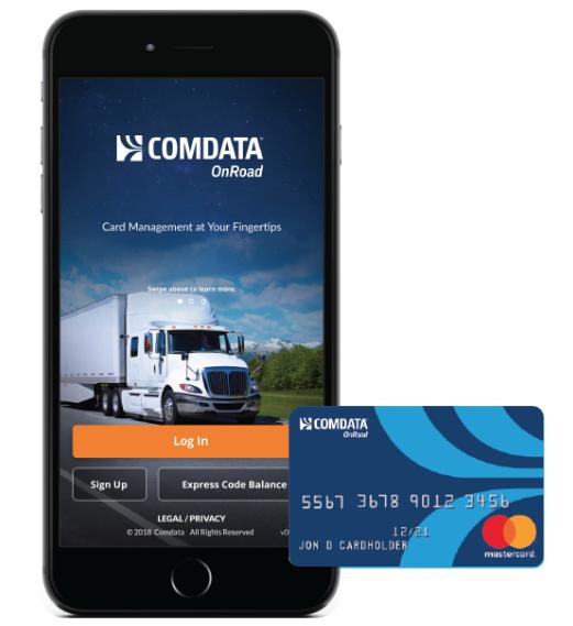 Comdata® OnRoad Mobile App