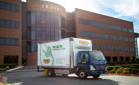 FUSO eCanter all-electric medium-duty box trucks