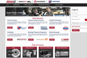 Advance Auto Parts Rolls with Website for Professional Customers