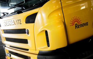 Scania Delivers Fuel Cell Refuse Truck