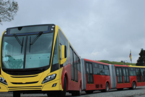 City of Bogota Sets Green Trends with Gas Buses from Scania