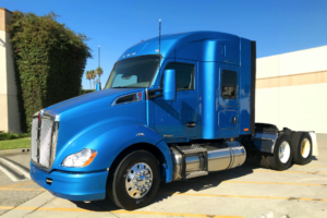 First Near-Zero Emissions Trucks  Deployed at Ports of Long Beach and LA