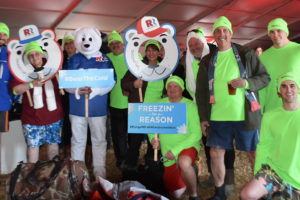 Stertil-Koni Team Bears the Cold and Plunges for Special Olympics Maryland
