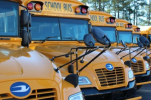Blue Bird Buses Now Equipped with Electronic Stability Control and Backup Cameras