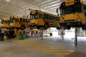 School Districts Increasingly Turn to Next-Gen Inground Vehicle Lifts for Service and Repairs
