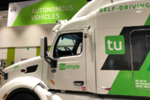 TuSimple Self-Driving Truck Service to the United States Postal Service