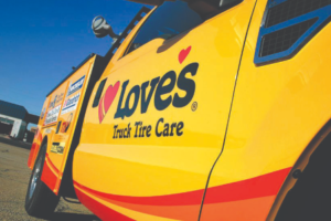 Free TirePass inspections, half-priced DOT inspections at Love's Truck Tire Care, Speedco