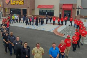 Love's Travel Stops opens in three states, adds 312 truck parking spaces