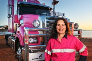 Industry moves to provide training, education and recruitment of female truck drivers