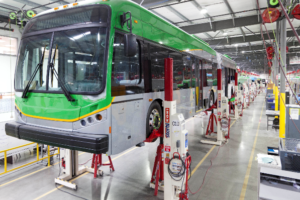 Electric Vehicle Leader BYD Taps Stertil-Koni Vehicle Lifts for Bus Manufacturing Plant in Lancaster, CA