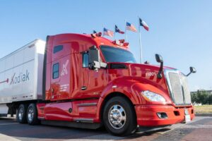 Self-Driving Truck Startup Kodiak Robotics Begins First Freight Deliveries