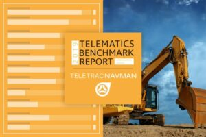Teletrac Navman Construction Benchmark Report Shows Telematics Use Promotes Better Safety Outcomes