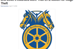 Teamsters React to CA Trucking Association Lawsuit to Perpetuate Misclassification and Wage Theft