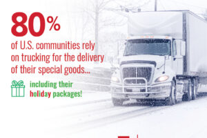 Trucking Moves America Forward Recognizes Trucking Industry's Charitable Works this Holiday Season