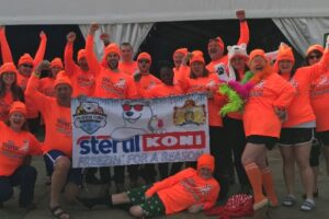 Record-Size Stertil-Koni Team Takes Icy Polar Plunge in Chesapeake Bay to Help Raise Funds for Special Olympics of Maryland