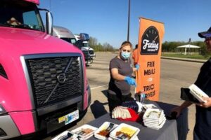 Volvo Trucks Helps Provide Meals to Feed Truck Drivers on the Road