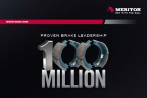 Meritor Manufactures 100-Millionth Brake Shoe