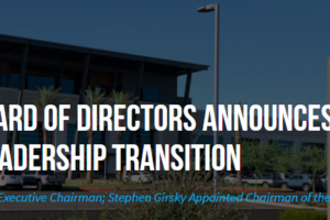 Nikola Board of Directors Announces Leadership Transition