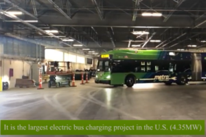 Launch of Largest Electric Bus Fleet in U.S.