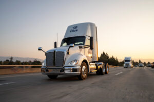 Self-Driving Truck Company Plus Upsizes Recent Fundraising to $420 Million
