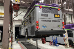 Valley Metro in Arizona Taps Stertil-Koni Vehicle Lifts to Modernize Bus Maintenance and Repair Operations in Mesa Facility